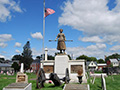 MOLLY PITCHER GRAVE AND STATUE